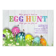 Easter in the Garden Invitation