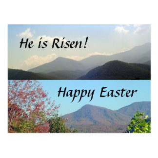 Easter in the Mountains Postcard