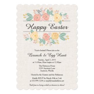 Easter Invitation, Brunch, Easter Egg Hunt Invite