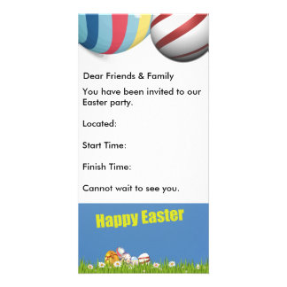 Easter Invitation Photo Cards