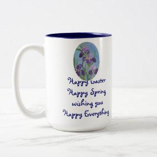 Easter Iris mug