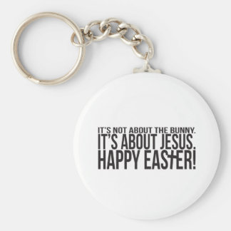 Easter is About Jesus Basic Round Button Keychain