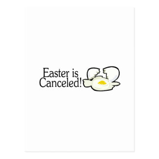 Easter Is Canceled Postcard