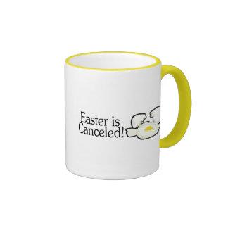 Easter Is Canceled Ringer Mug