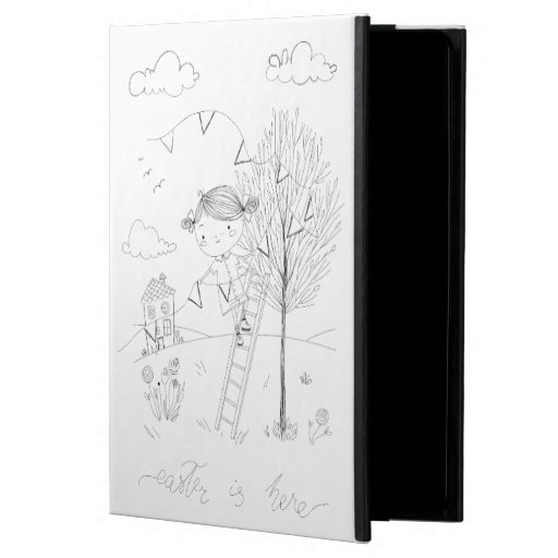 Easter Is Here Ink Drawing Powis iPad Air 2 Case