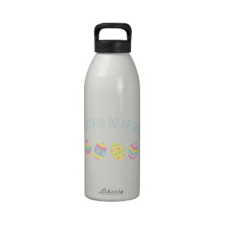 Easter is Here Water Bottle