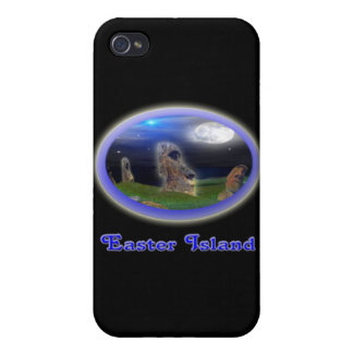 easter island art iPhone 4 covers