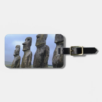 Easter-Island Bag Tag