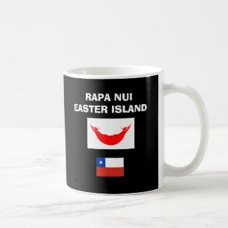 EASTER ISLAND* Bold RN / RAPA NUI  Coffee Mug
