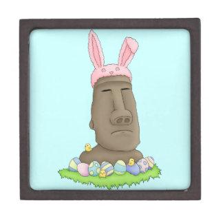 Easter Island Bunny Parody Premium Trinket Box