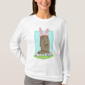 Easter Island Bunny Parody T-Shirt