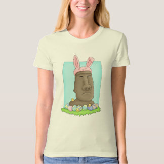 Easter Island Bunny Parody T Shirt