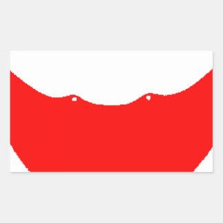 Easter Island (Chile) Flag Rectangular Sticker