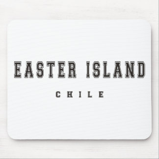 Easter Island Chile Mouse Pad