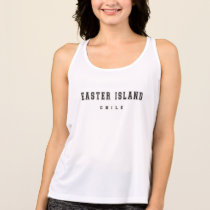 Easter Island Chile Tank Top