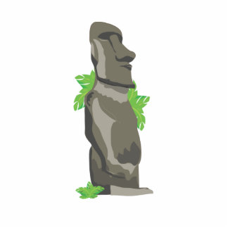 Easter Island Cutout