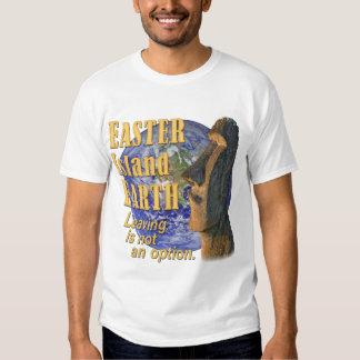 EASTER Island EARTH Tee Shirt
