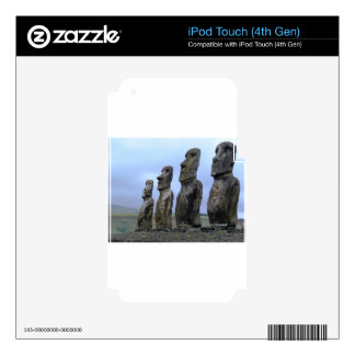 Easter-Island iPod Touch 4G Skin
