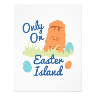 Easter Island Letterhead