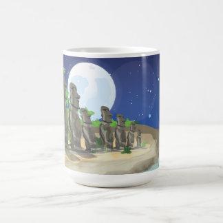 Easter Island Moai Coffee Mug