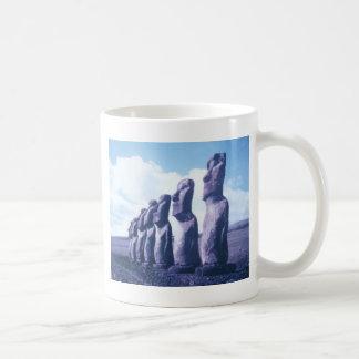 Easter Island Moai Heads Coffee Mug