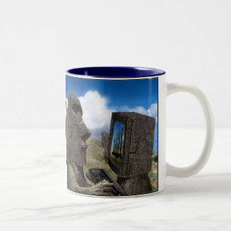 Easter island Online Cup Mugs