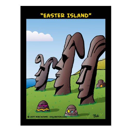 """Easter Island"" Postcard"