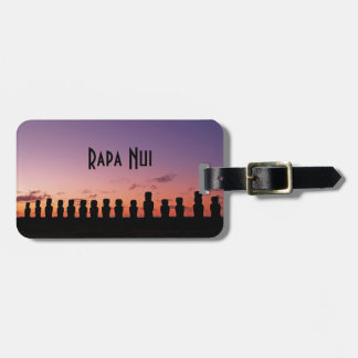 Easter Island Rapa Nui  Chile South America Luggage Tag