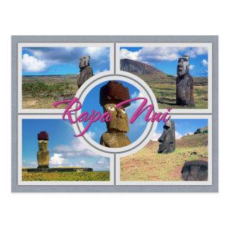 Easter island (Rapa Nui) Postcard