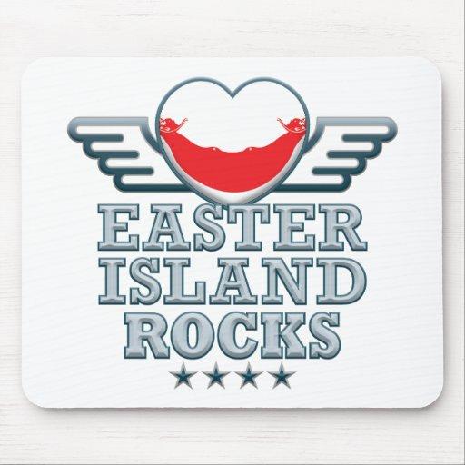 Easter Island Rocks v2 Mouse Mats