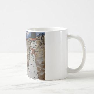 Easter Island Snow Men Classic White Coffee Mug