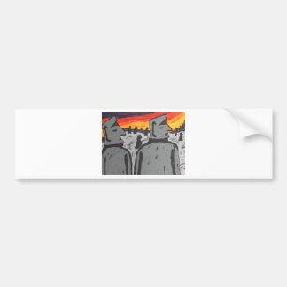 Easter Island Sunrise Bumper Sticker