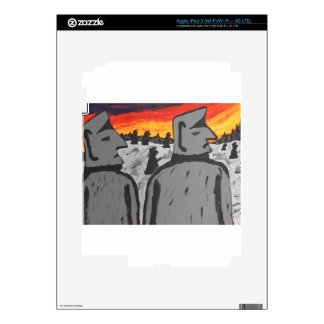 Easter Island Sunrise Skin For iPad 3