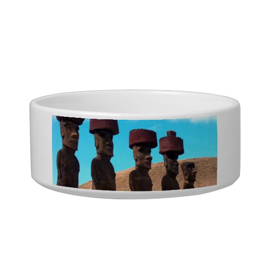 EASTER ISLAND TALKING HEADS BOWL