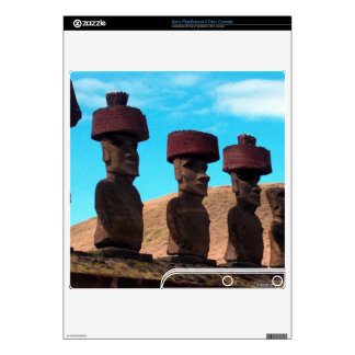 EASTER ISLAND TALKING HEADS SKIN FOR THE PS3 SLIM