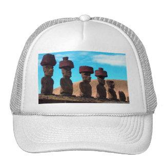 EASTER ISLAND TALKING HEADS TRUCKER HAT