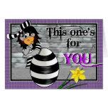 Easter Jailbird Card