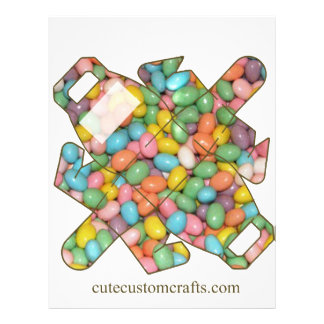 Easter Jelly Bean Purse Gift Bag Flyer