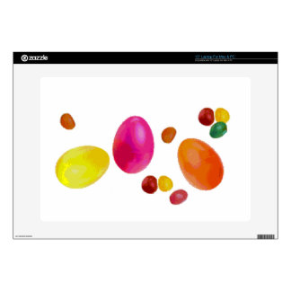 """Easter Jelly Beans Decals For 15"""" Laptops"""