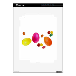 Easter Jelly Beans Decals For iPad 2