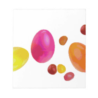 Easter Jelly Beans Note Pad