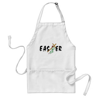 Easter Jesus Cross Adult Apron