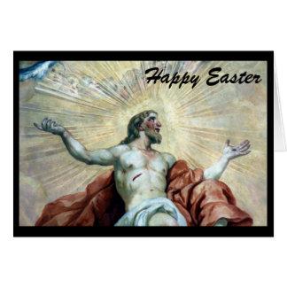easter jesus greeting card