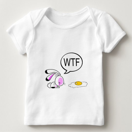 Easter Joke Bunny Baby T-Shirt
