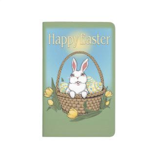 Easter Journal Custom Easter Bunny Rabbit Notebook