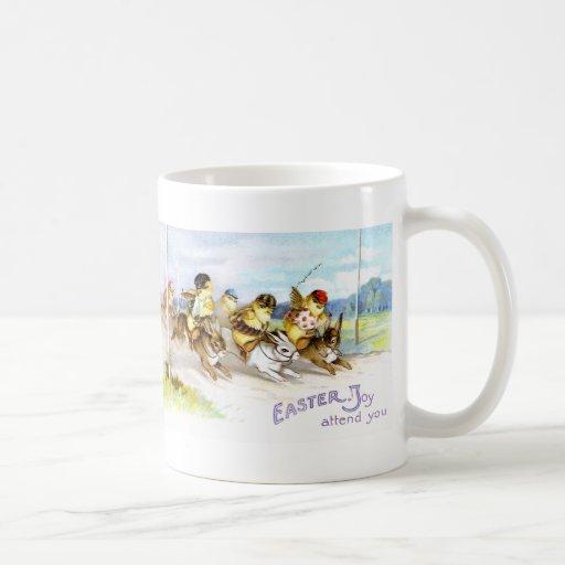 Easter Joy Classic White Coffee Mug