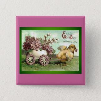 Easter Joy Pinback Button