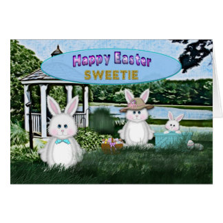 EASTER - KIDS - SWEETIE BUNNY/FAMLY CARD