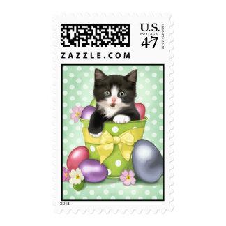 Easter Kitten Postage