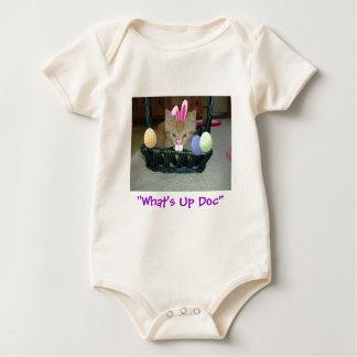 Easter Kitty Baby Bodysuit